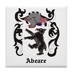 Abeare Coat of Arms Tile Coaster