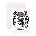 Abeare Coat of Arms Greeting Cards (Pk of 10)