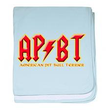 rockin' APBT'S baby blanket