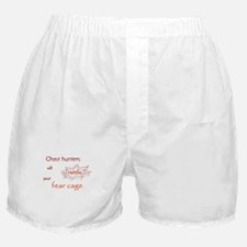 Ghost Hunters Rattle Fear Cages Boxer Shorts