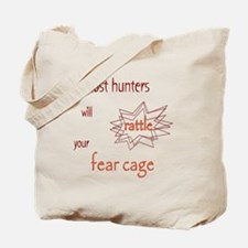 Ghost Hunters Rattle Fear Cages Tote Bag