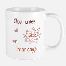 Ghost Hunters Rattle Fear Cages Mug
