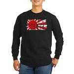 Quake Relief Long Sleeve Dark T-Shirt