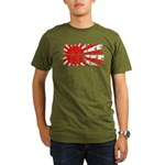 Quake Relief Organic Men's T-Shirt (dark)