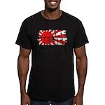 Quake Relief Men's Fitted T-Shirt (dark)