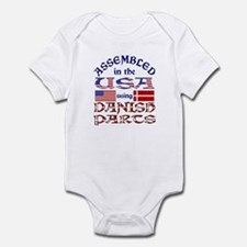 USA / Danish Parts Infant Creeper