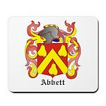 Abbett Coat of Arms Mousepad