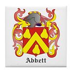 Abbett Coat of Arms Tile Coaster