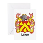 Abbett Coat of Arms Greeting Cards (Pk of 10)