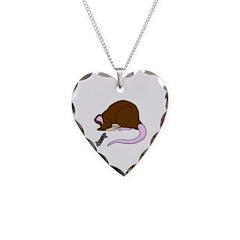 Sleepy Rat Necklace