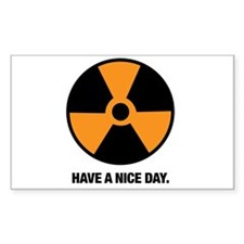 HAVE A NICE DAY. Decal