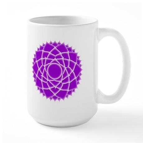 Seventh Chakra (Crown Chakra) Large Mug