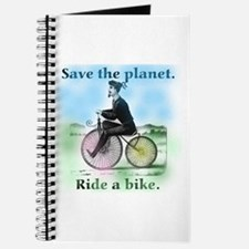 Save the Planet Ride a Bike Journal