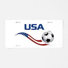 Unique Fifa Aluminum License Plate