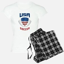 Soccer Crest USA blue Pajamas