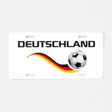 Soccer DEUTSCHLAND Aluminum License Plate