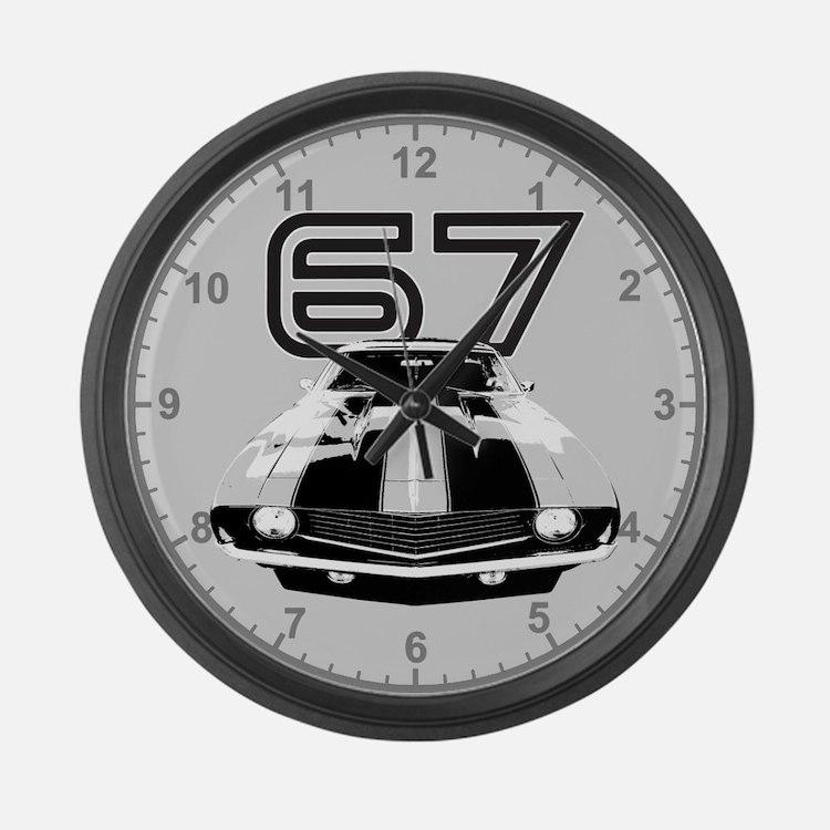 1967 Camaro Large Wall Clock