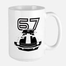 1967 Camaro Large Mug