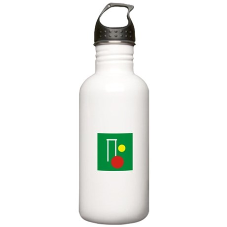 Croquet Network Logo Stainless Water Bottle 1.0L