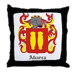 Abarca Coat of Arms Throw Pillow