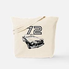 1972 MG Midget Tote Bag