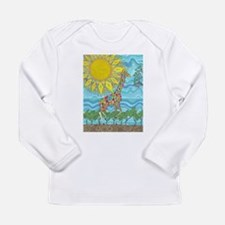 African Rainbow Long Sleeve Infant T-Shirt