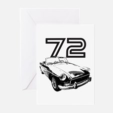1972 MG Midget Greeting Cards (Pk of 20)