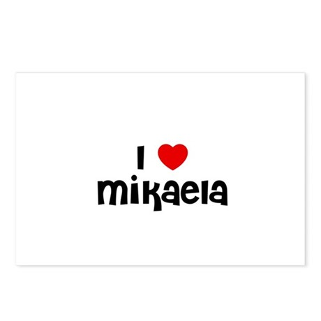 I * Mikaela Postcards (Package of 8)