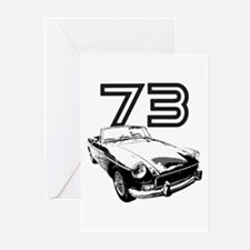 1973 MG Midget Greeting Cards (Pk of 20)