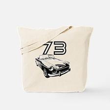 1973 MG Midget Tote Bag