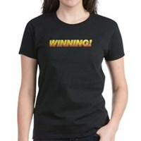 Charlie Winning! Women's Dark T-Shirt