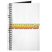 Charlie Winning! Journal