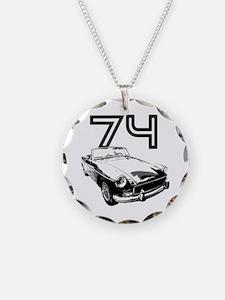 1974 MG Midget Necklace