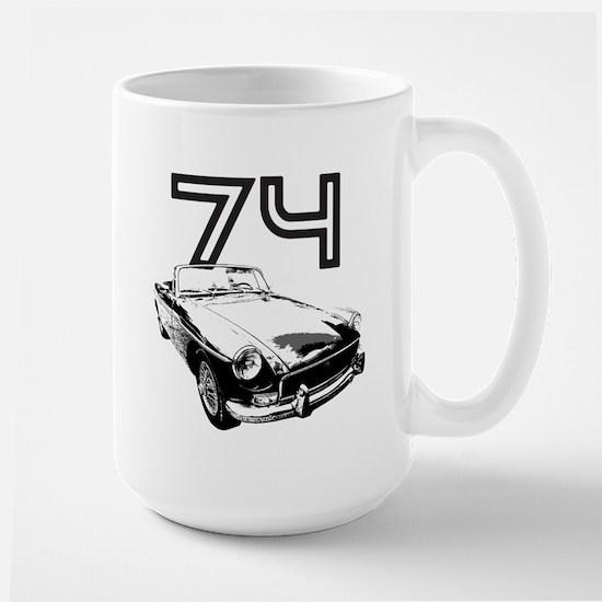 1974 MG Midget Large Mug
