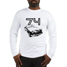 1974 MG Midget Long Sleeve T-Shirt