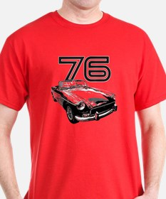 1976 MG Midget T-Shirt