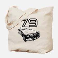 1979 MG Midget Tote Bag