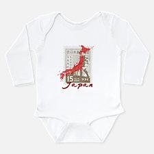 JAPAN RELIEF 2011 Long Sleeve Infant Bodysuit