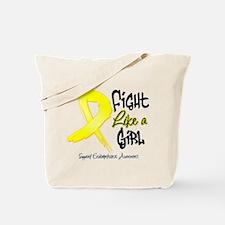 Endometriosis Fight-Like-Girl Tote Bag