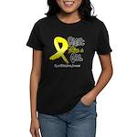 Endometriosis Fight-Like-Girl Women's Dark T-Shirt