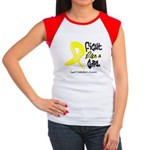 Endometriosis Fight-Like-Girl Women's Cap Sleeve T