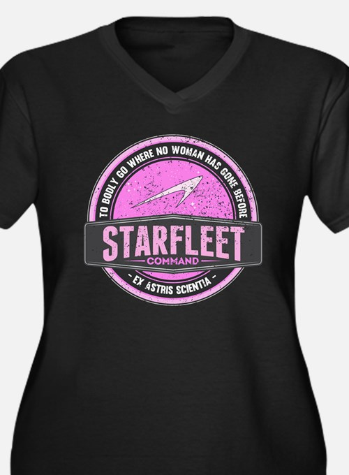 Vintage Starfleet Command Insign Plus Size T-Shirt
