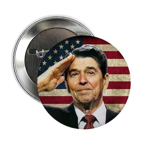 """Reagan Salute... 2.25"""" Button"""