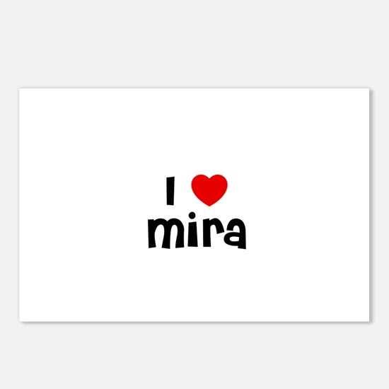 I * Mira Postcards (Package of 8)