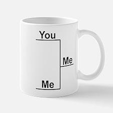 You versus Me Bracket Mug