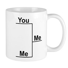You versus Me Bracket Mug