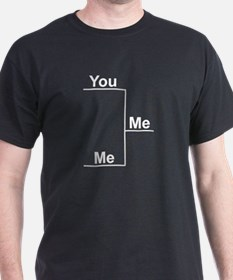 You versus Me Bracket T-Shirt