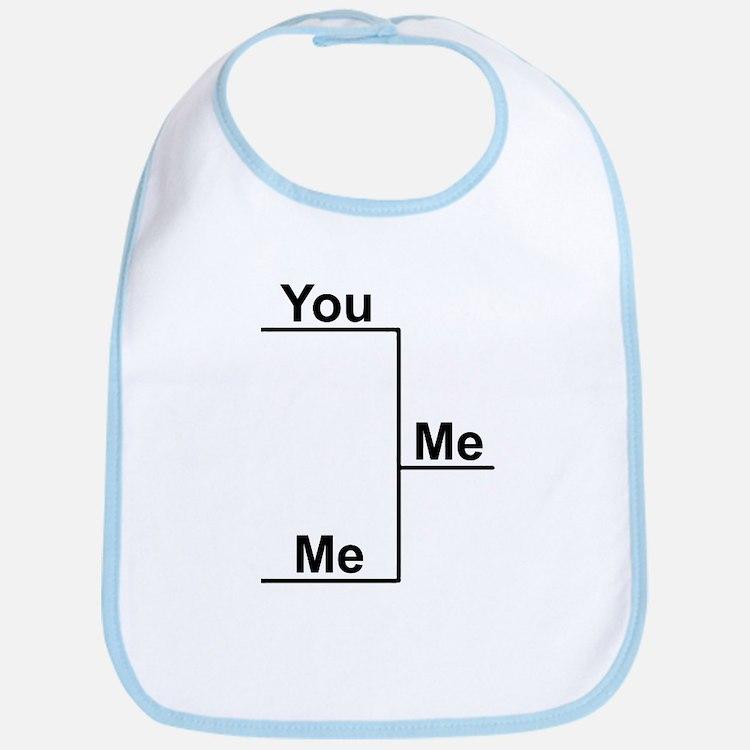 You versus Me Bracket Bib