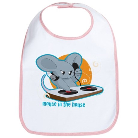Mouse in the House Bib