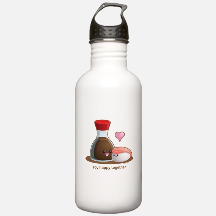 Soy happy together Water Bottle